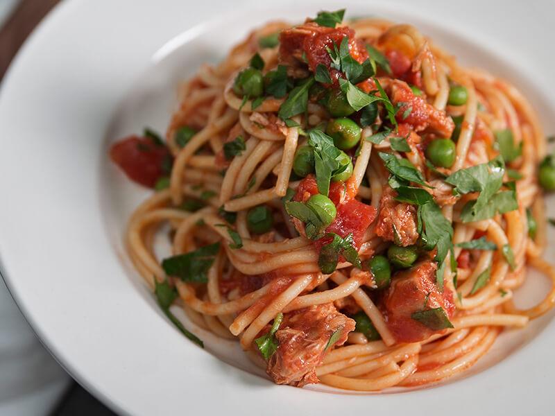 Bachelor's Pasta with Sirena Tuna