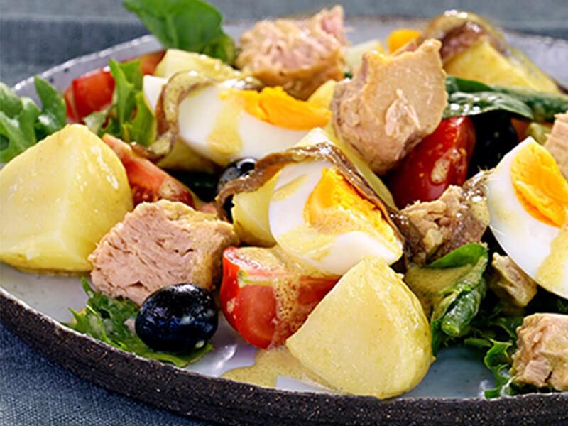 Niçoise Salad with Sirena Tuna