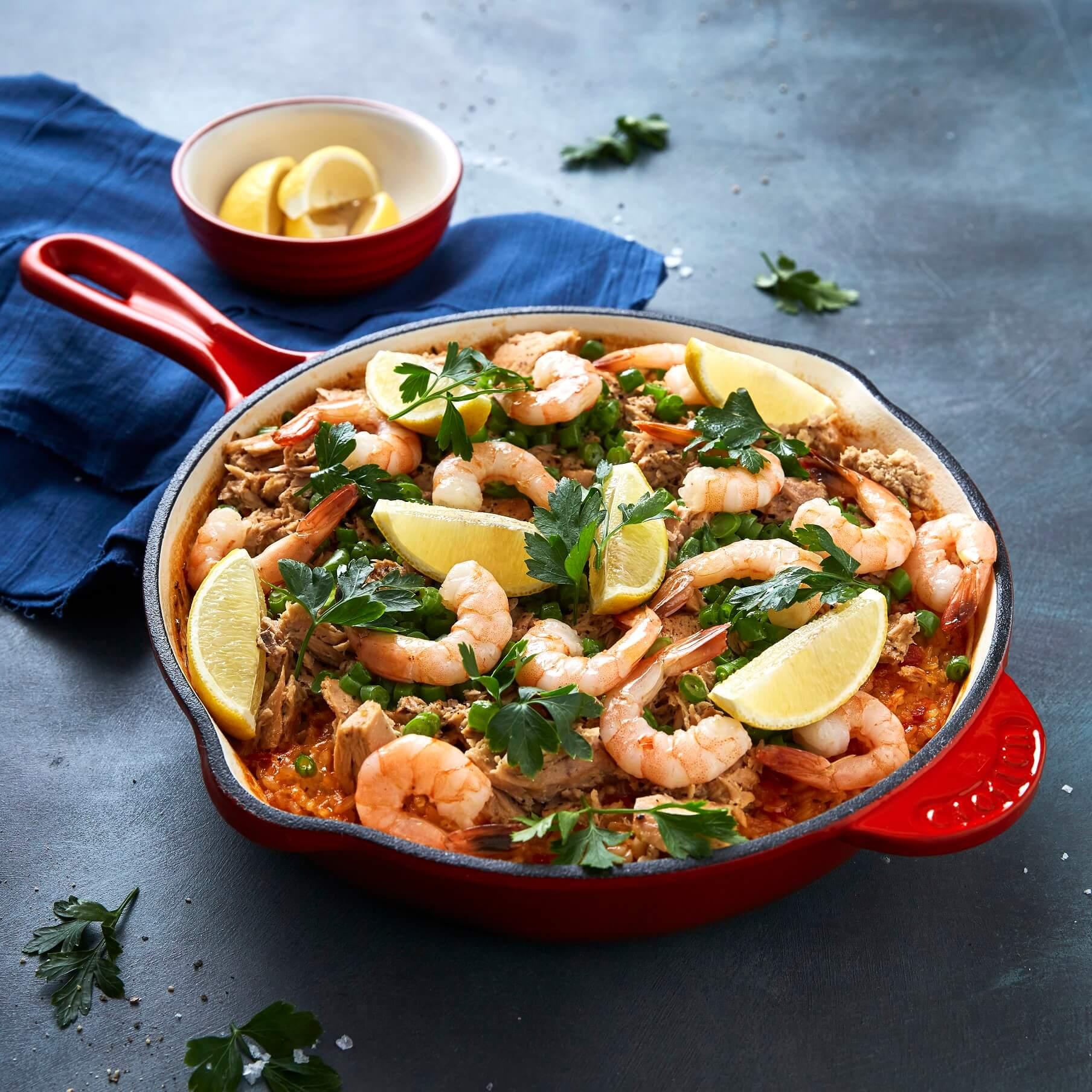 SIRENA Seafood Paella Perfection