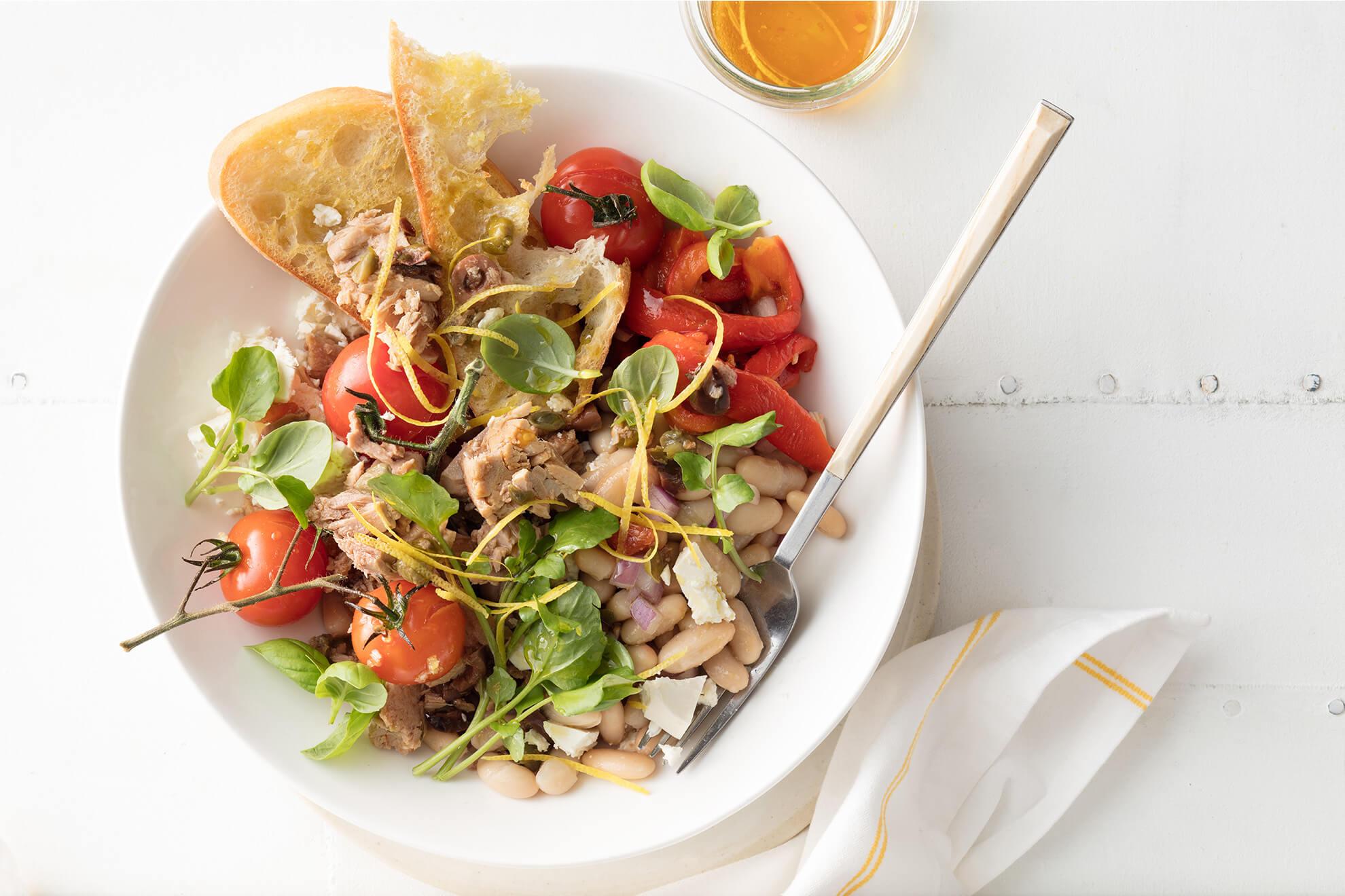 SIRENA Tuna Bruschetta Dinner Bowl