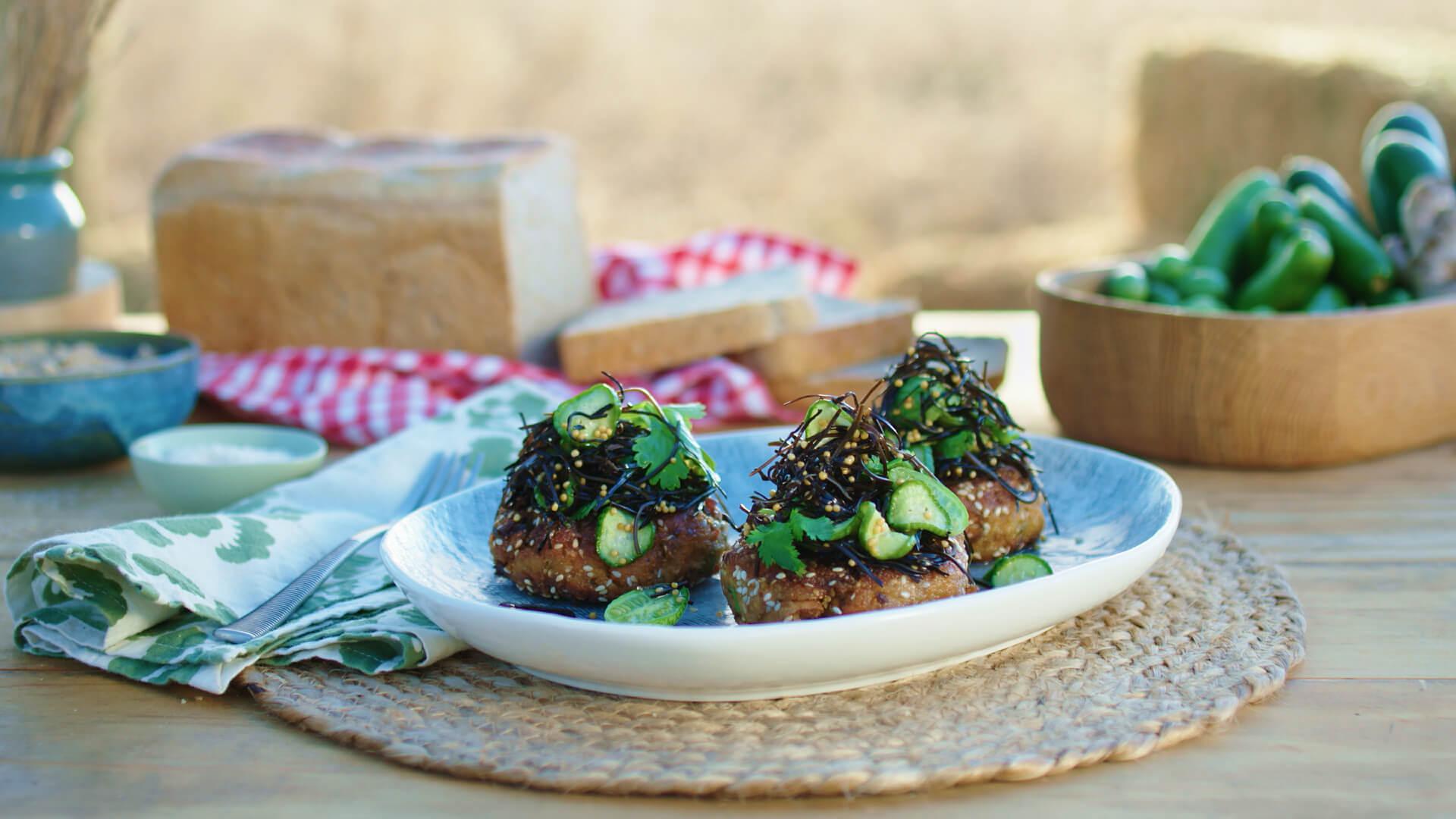 Sirena Tuna and Sweet Potato Patties