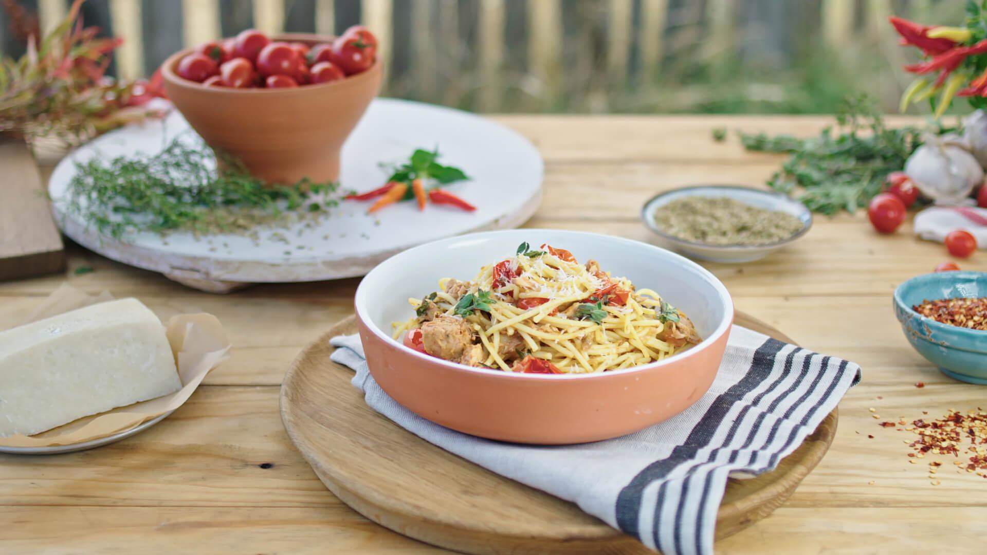 Sirena Tuna Spaghetti Puttanesca