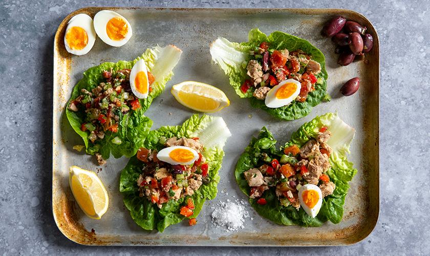 Sirena Tuna and Egg Salad Cup